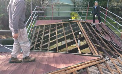 Before Roofing