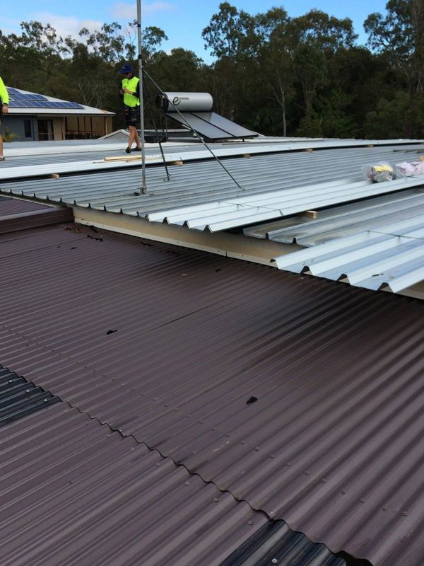 Brisbane steel roofing